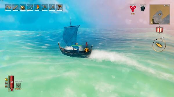 Valheim6 航海画像