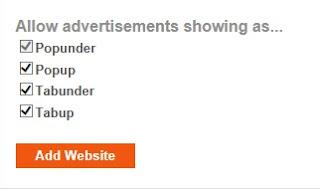 Configurar PopAds para publicidad móviles
