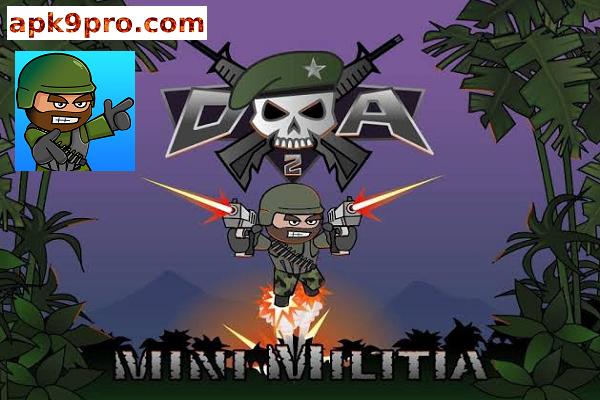Doodle Army 2 : Mini Militia v5.3.0 Apk + Mod for android