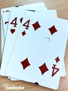 Multiplication fact card game similar to UNO