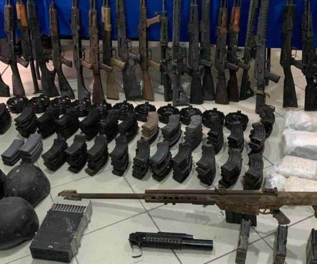 Luis Nabor alias La Shakira del CDG es detenido con un gran arsenal
