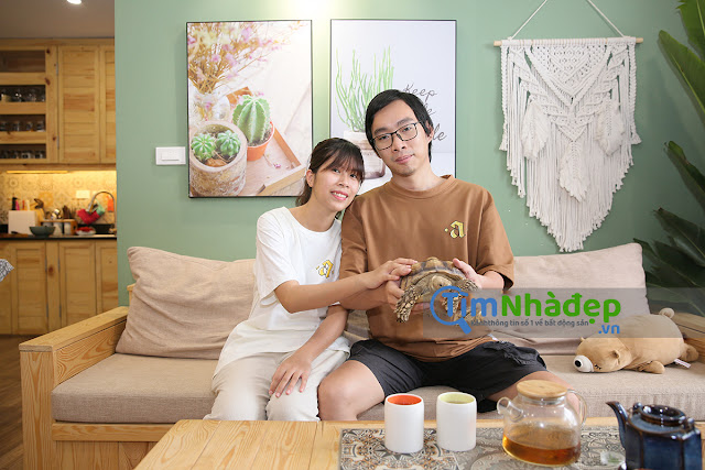 vợ chồng anh Phong