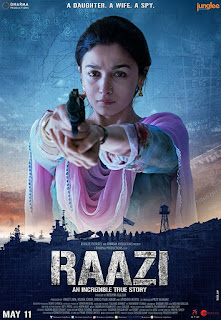 Raazi (2018) Hindi Movie BluRay | 720p | 480p