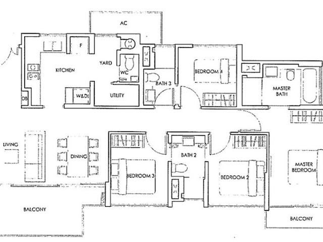 Forestwood Residences Floor Plan