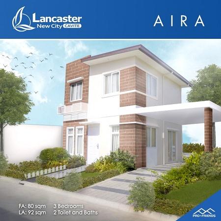 Home Design Idea Aira House at Lancaster New City