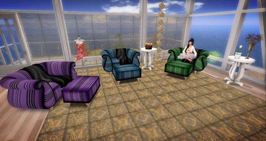 #795 - My Easter Egg Living Room