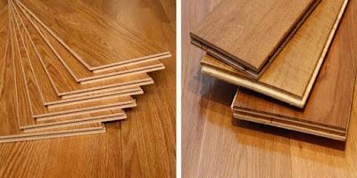 Jual lantai kayu laminated