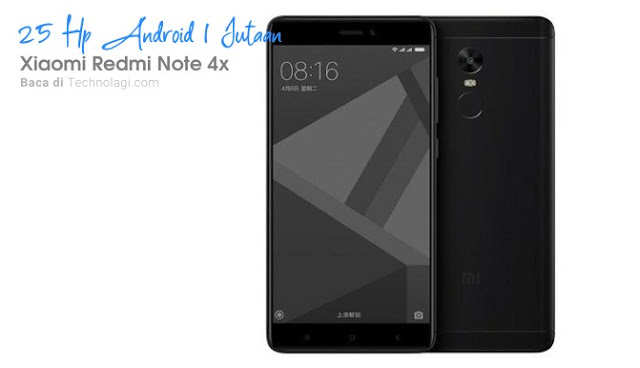 Xiaomi Redmi Note 4x harga 1 jutaan
