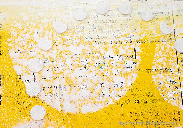 Layers of ink - Mixed Media Art Journaling Tutorial by Anna-Karin Evaldsson.