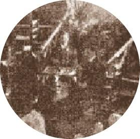 Inauguración del tablero gigante en 1904