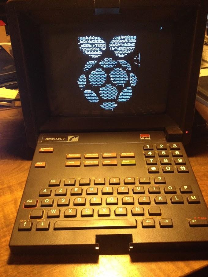 Convierte tu minitel en un terminal para tu raspberry PI