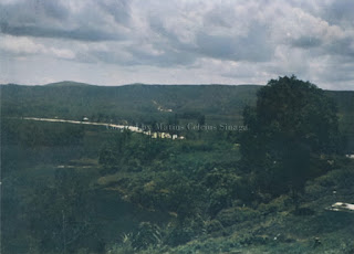 lembah di lihat dari salah satu sisi kota tarutung