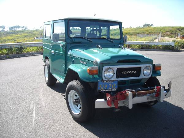 Never Modified, 1979 FJ40 Toyota Land Cruiser