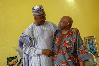 Bukola Saraki and Ademola Adeleke