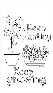 keep planting keep growing doodle