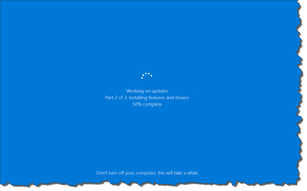 COMPUTERS AND OTHERS: How To Fix 'Working On Update' Issue