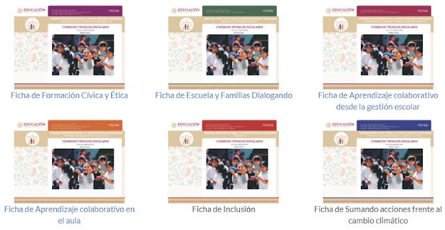 5ta Sesión CTE – Fichas Buenas Prácticas Para La Nueva Escuela Mexicana