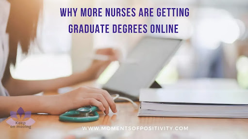 Why More Nurses are Getting Graduate Degrees Online