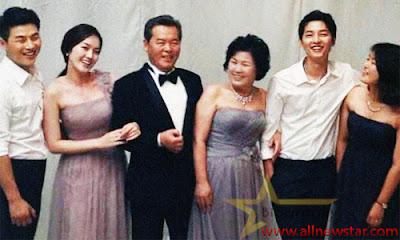 Song Hye-Kyo Family
