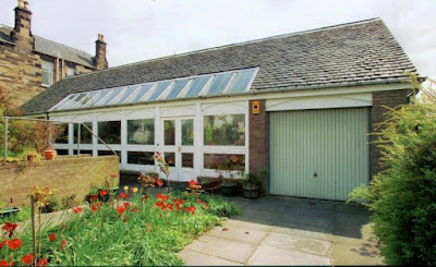 The N80 902 style garage door on the original property