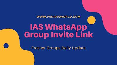 IAS WhatsApp Group Invite Link