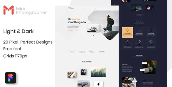 Best Photographer Website Figma Template