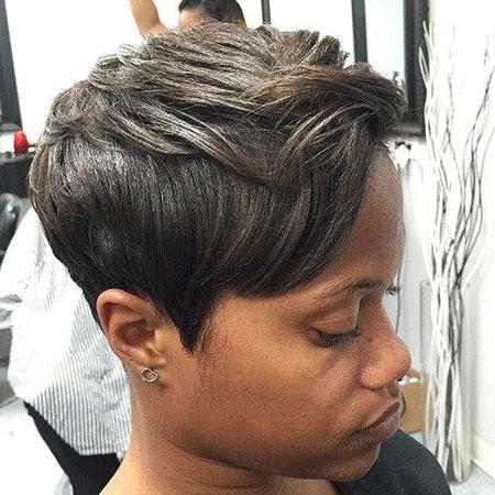 short haircuts for black women 2019