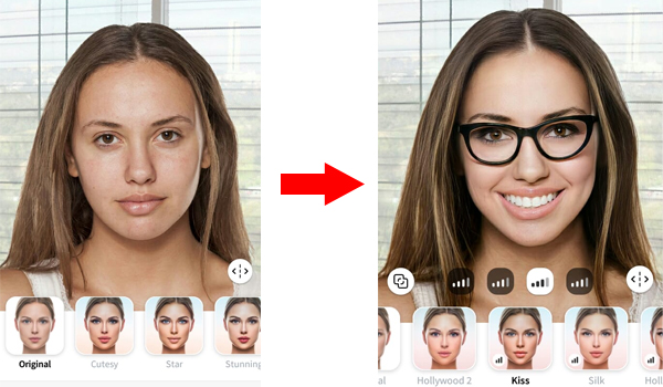 Faceapp Aplikasi Yang Lagi  Viral, Yang Bisa Edit Wajah Anda Jadi Cantik Seketika