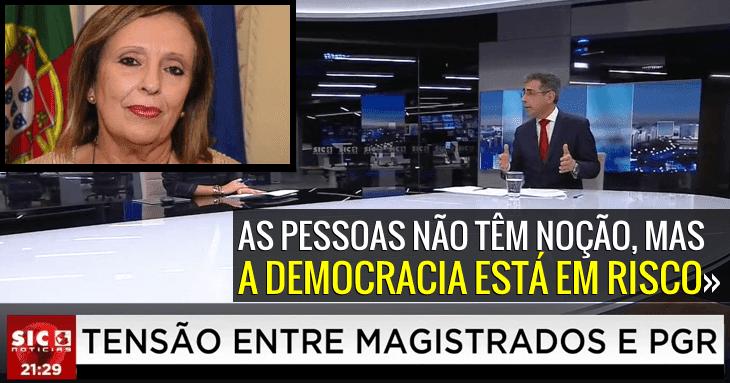 Polémica na PGR: «Um atentado à Democracia» Gomes Ferreira