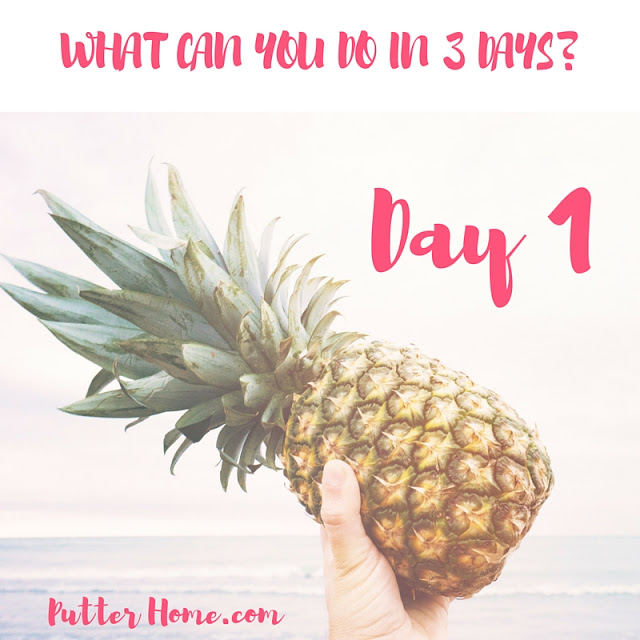 3 Day Refresh Review - Day 1, a detox and cleanse for your gut to promote healthy eating and weight loss | Putter Home