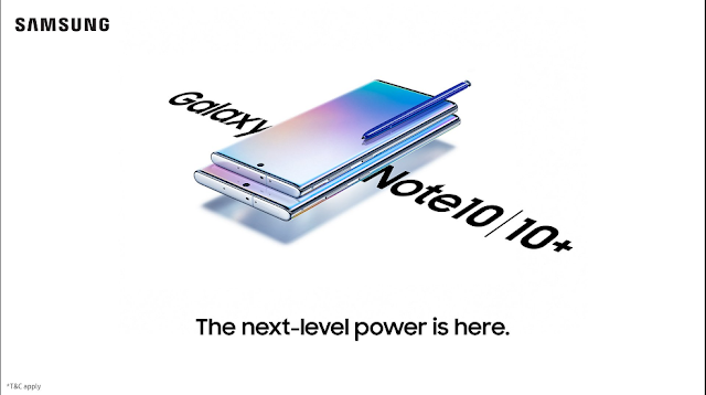 Price and sale offer for Samsung Galaxy Note 10, Galaxy Note 10+