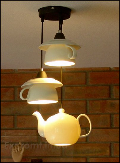 teapot and teacups. Alice in wonderland LIGHTING ALICE IN WONDERLAND DECOR