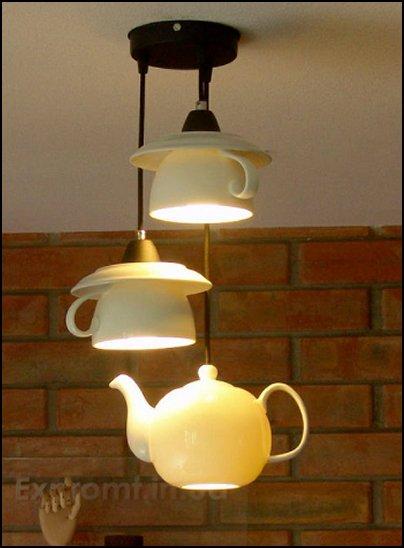 teapot and teacups. Alice in wonderland LIGHTING ALICE IN WONDERLAND DECOR