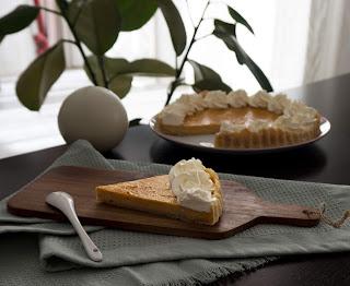 Receta fácil de pastel de calabaza o pumpkin pie hecho con thermomix