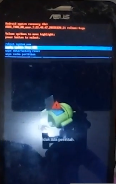 Cara Flash Asus Zenfone 6 A600CG (T006) via Adb Fastboot