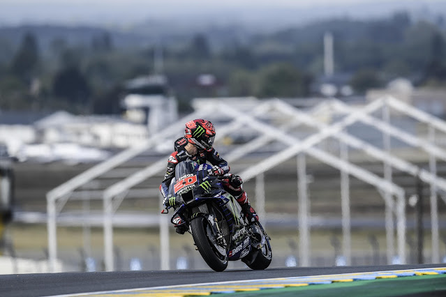 Hasil Kualifikasi MotoGP Le Mans Perancis 2021: Quartararo Raih Pole Position (Lagi) !!!