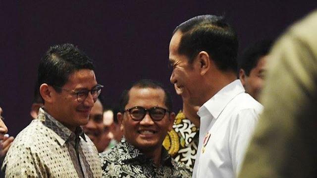 Ke Sandi `Hati-hati 2024`, Taktik Jokowi Pecah Perhatian ke Anies