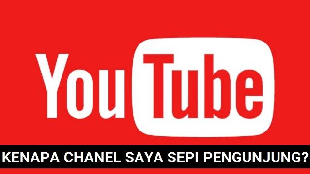Penyebab Chanel Youtube Agan Sepi Sedikit Subscriber