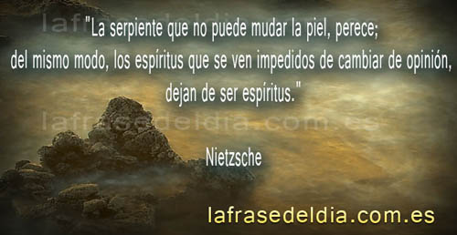 Frases para la vida de Friedrich Nietzsche