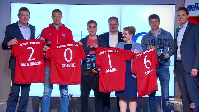 P&G nuevo patrocinador global del Bayern