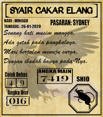 SYAIR SYDNEY 26-01-2020