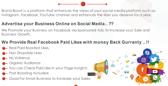Advertise your Business Online on Social Media.
