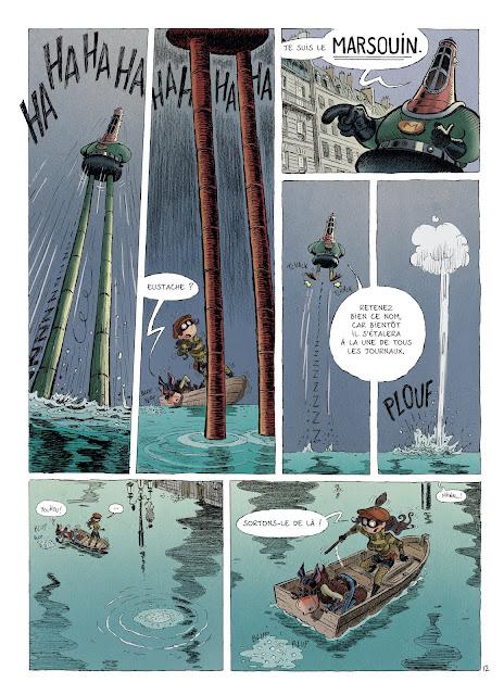 Une aventure des spectaculaires tome 3 éditions Rue de Sèvres Page 18