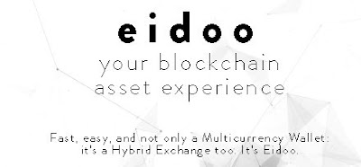 Eidoo - Multicurrency Wallet And Hybrid Exchange