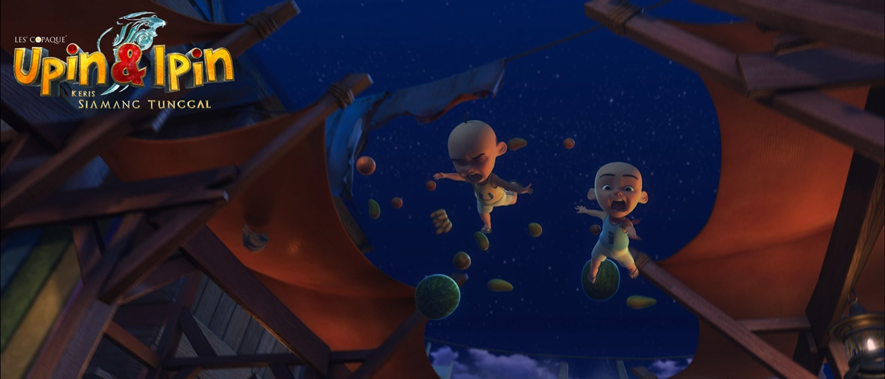 Upin & Ipin : Keris Siamang Tunggal - Movie Review