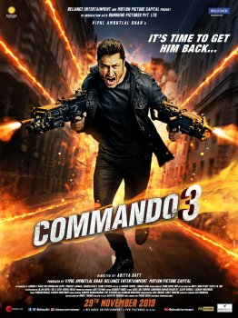 Commando 3 full movie leaked online on Filmywap and Tamilrockers