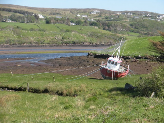County Donegal Road Trip: stranded boat in Killybegs