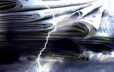 Πόσα φύλλα έχασαν οι εφημερίδες τα τελευταία 5 χρόνια