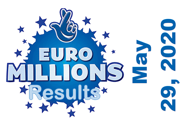 EuroMillions Results for Friday, May 29, 2020