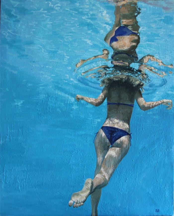Испанский художник. Amanda Arrou-Tea